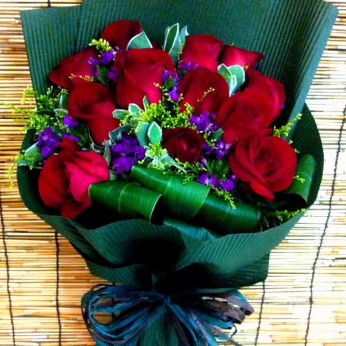 Red Rose Bouquet B $550